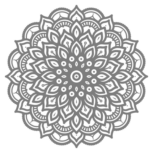 Decoratief concept abstracte mandala illustratie Premium Vector