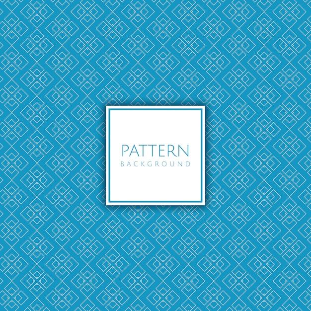 Decoratieve patroonachtergrond Gratis Vector