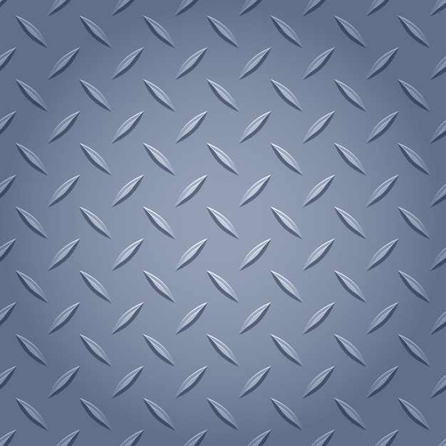 Diamant metalen achtergrond - grijze kleur. Premium Vector