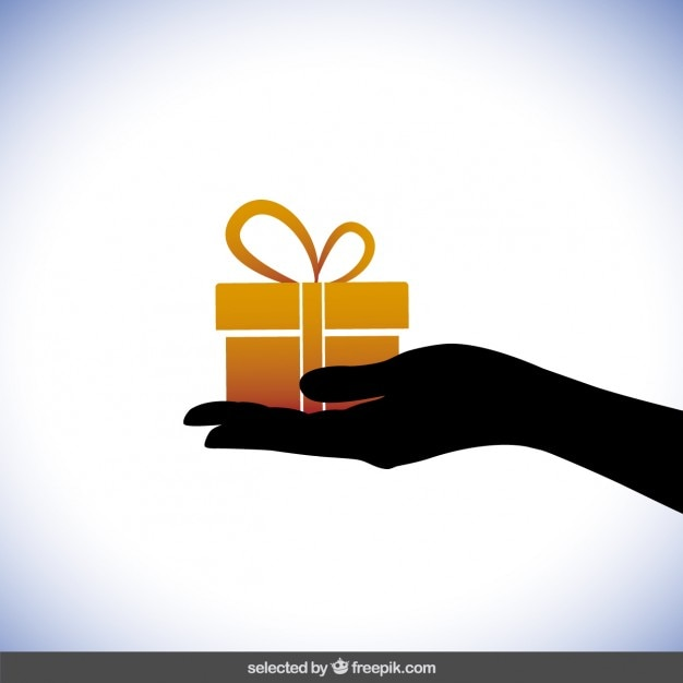 Die gift Gratis Vector