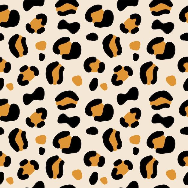 Dierlijke print naadloze patroon. Premium Vector