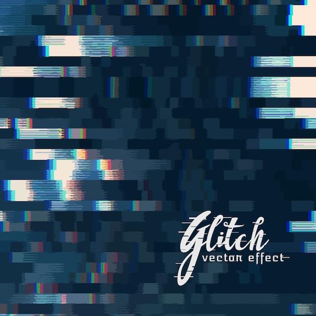 Digitale glitch vector abstracte achtergrond Gratis Vector