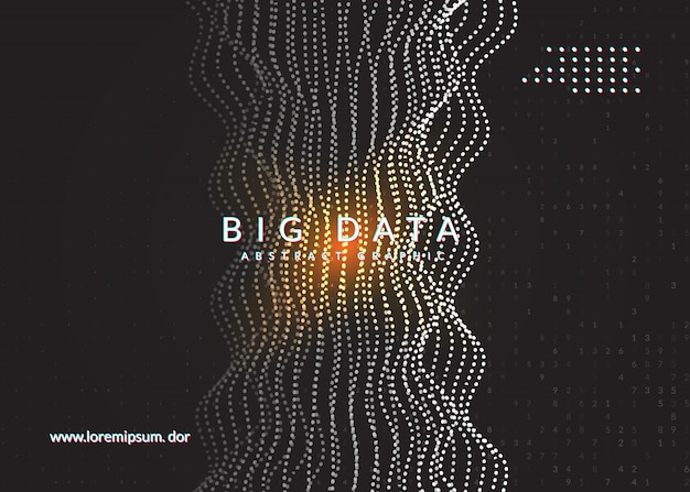 Digitale technologie abstracte achtergrond. Premium Vector