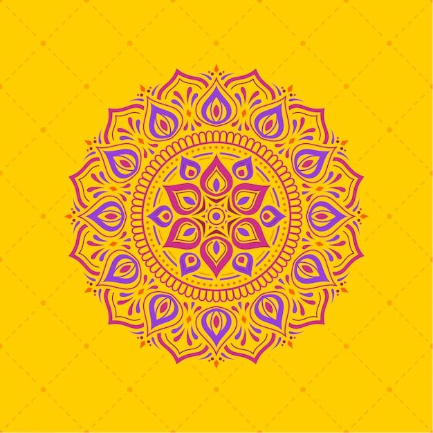 Diwali achtergrond ontwerppatroon Premium Vector