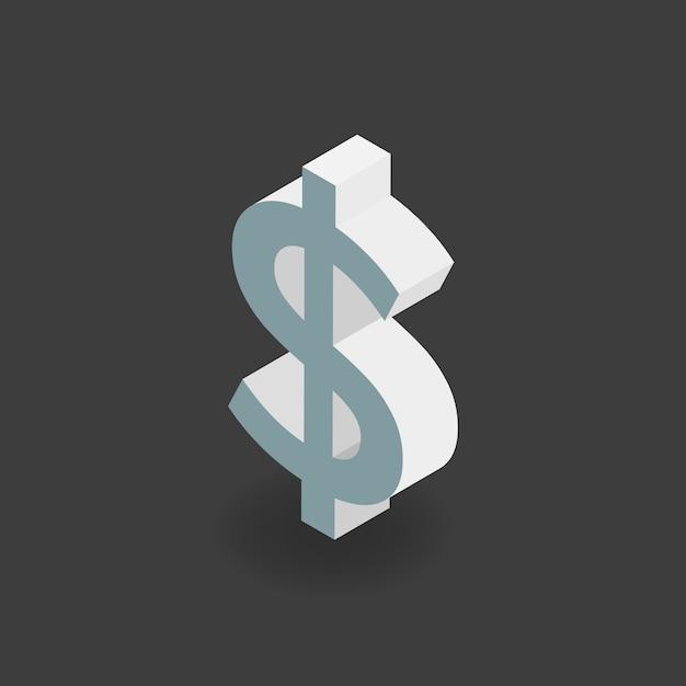 Dollarteken Gratis Vector