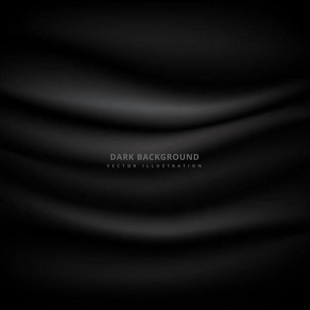 Donkere achtergrond met een doek textuur Gratis Vector