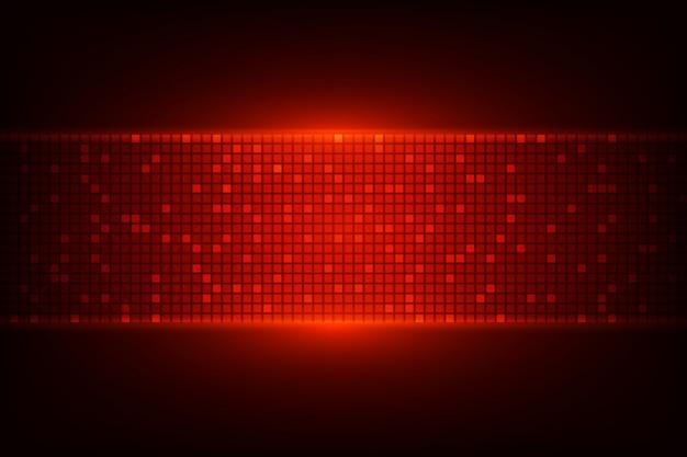 Donkere achtergrond met rode lichten Premium Vector