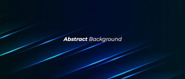 Donkere moderne abstracte achtergrond Premium Vector