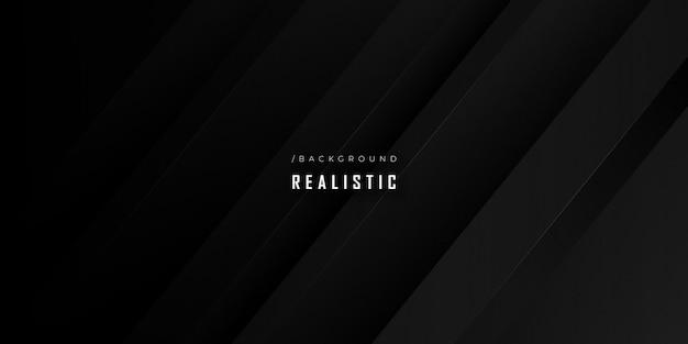 Donkere realistische moderne futuristische gestructureerde achtergrond Premium Vector