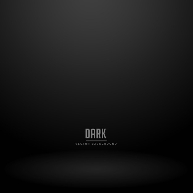 Donkere studio ruimte vector achtergrond Gratis Vector
