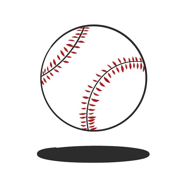 Doodle honkbal vector Gratis Vector