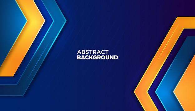 Dynamische abstracte metalen achtergrond Premium Vector
