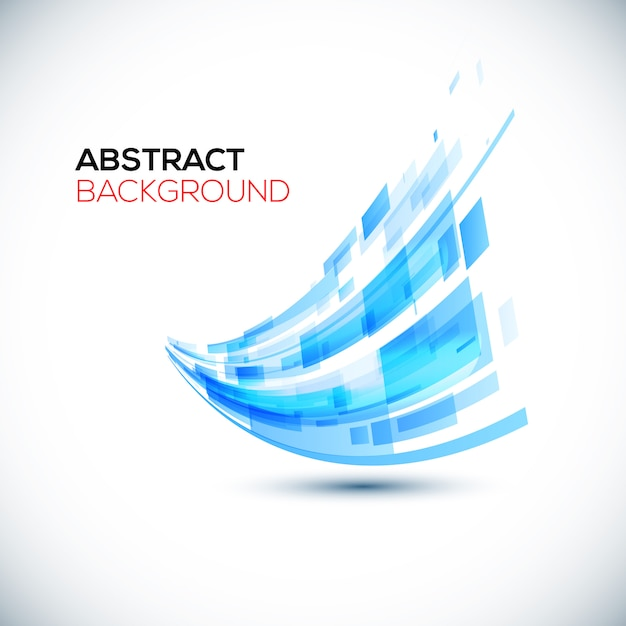 Dynamische kleurrijke strepen abstracte achtergrond. Premium Vector