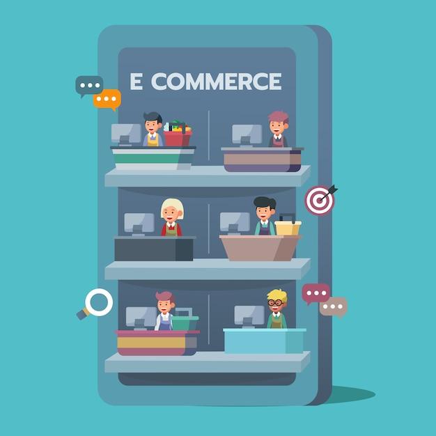 E-commerce Premium Vector