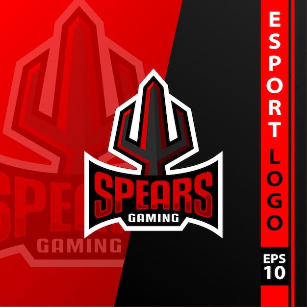 E-sport team logo Premium Vector