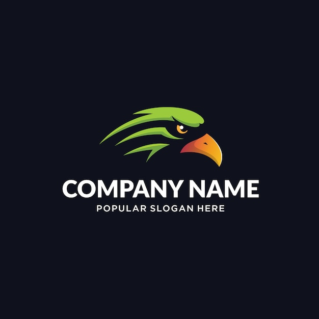 Eagle esport-logo Premium Vector