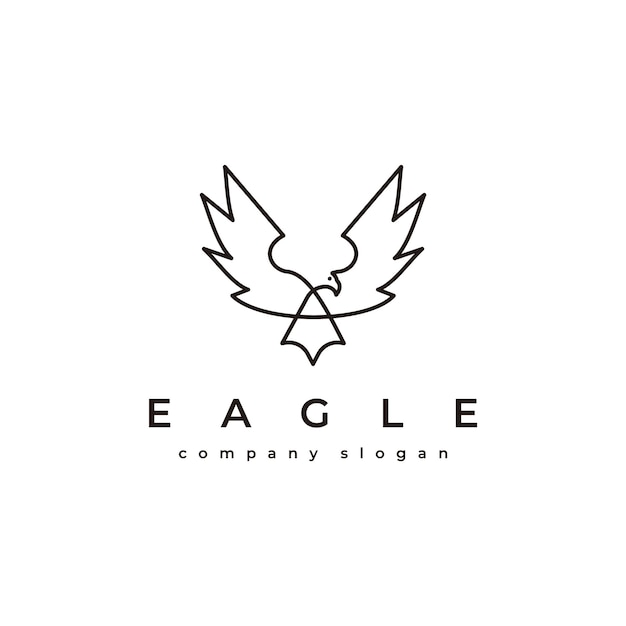 Eagle-logo Premium Vector