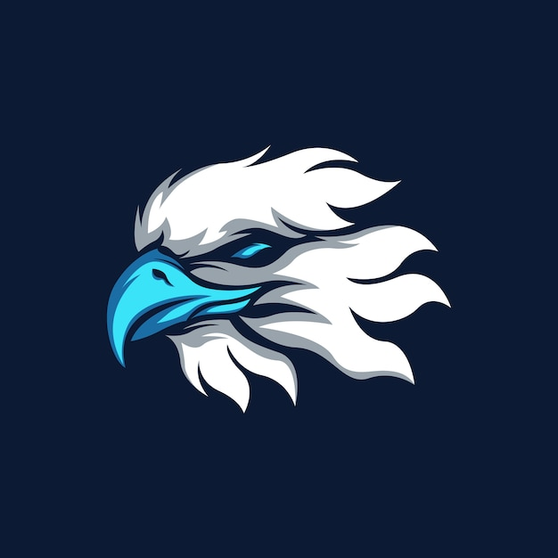 Eagle sport mascot-logo Premium Vector