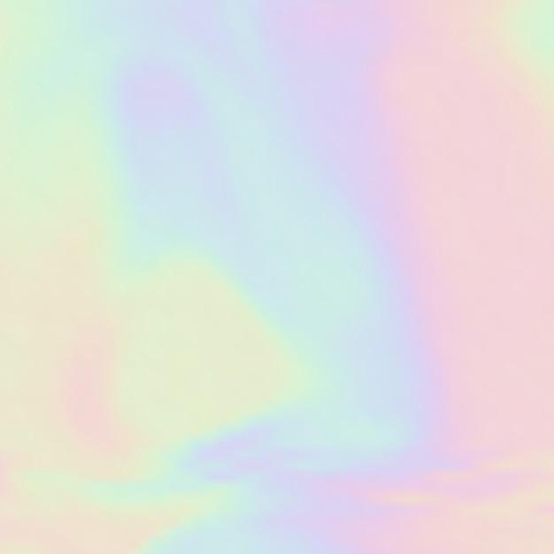 Eenhoorn kleur achtergrond met hologram als thema Premium Vector