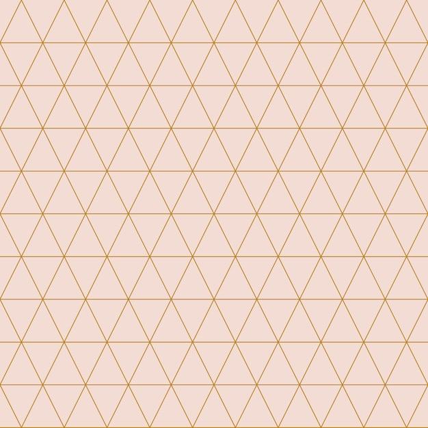 Eenvoudige driehoekige patroon vectorillustratie Gratis Vector