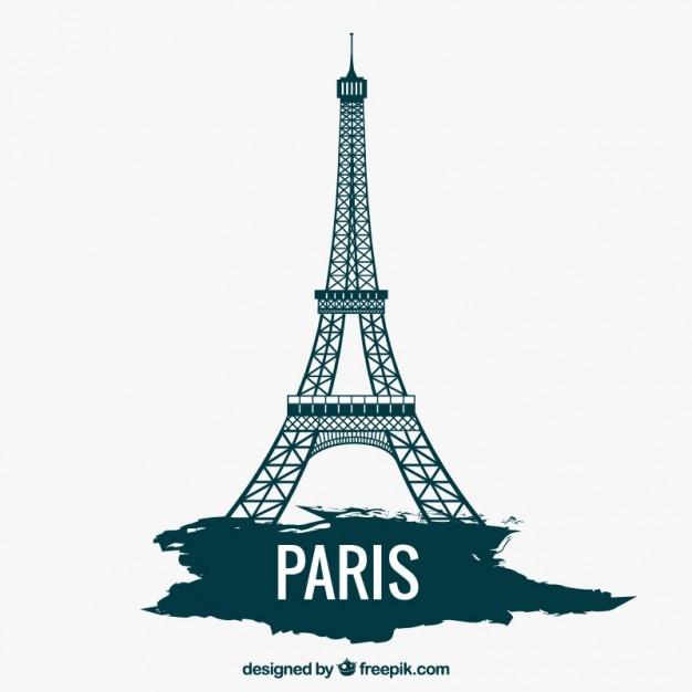 Eiffeltoren Gratis Vector