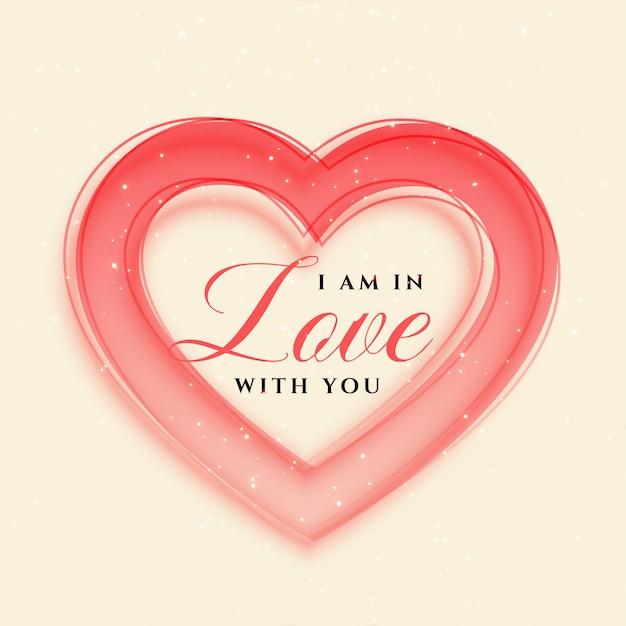 Elegante hartenframe Valentijnsdag achtergrond Gratis Vector