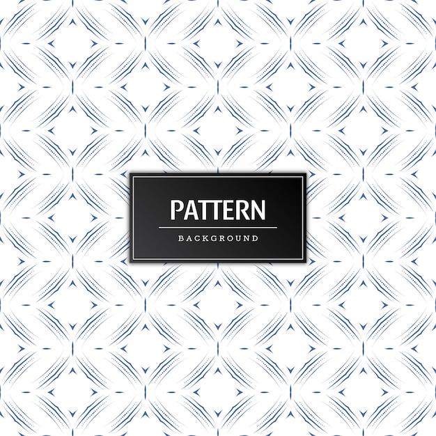 Elegante naadloze minimale patroonachtergrond Gratis Vector