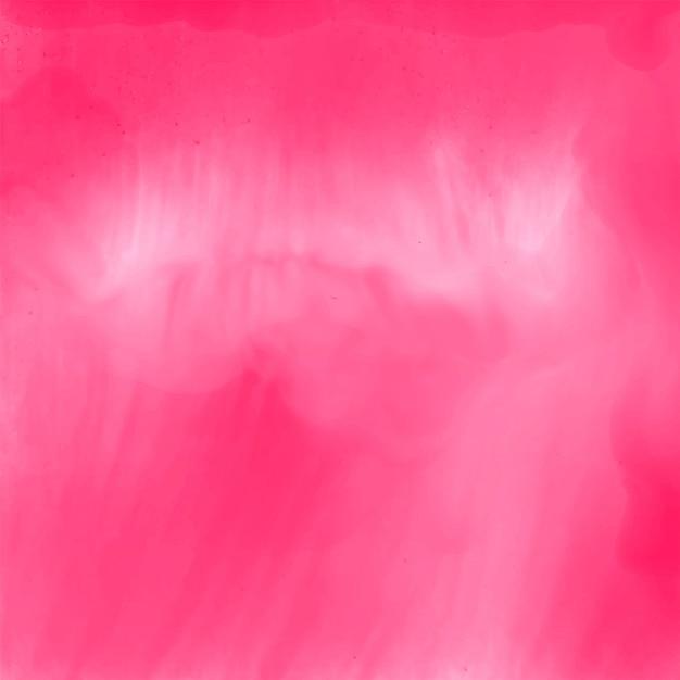 Elegante roze aquarel textuur achtergrond Gratis Vector