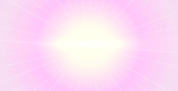 Elegante zachtroze achtergrond met gloeiend licht Gratis Vector