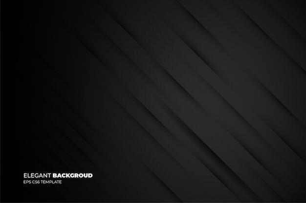 Elegante zakelijke achtergrond met lijnen sjabloon Gratis Vector