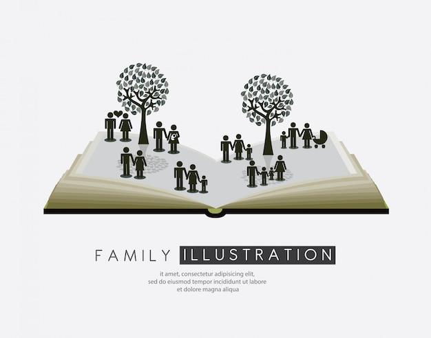 Familie Gratis Vector