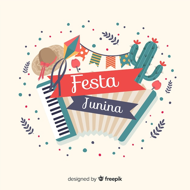 Festa junina Gratis Vector