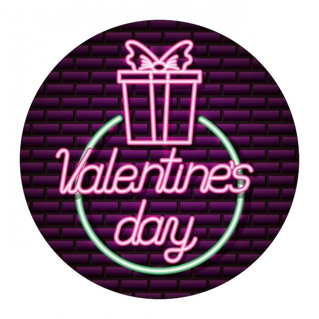 Fijne valentijnsdag Premium Vector