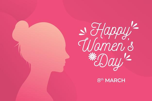 Fijne vrouwendag Premium Vector
