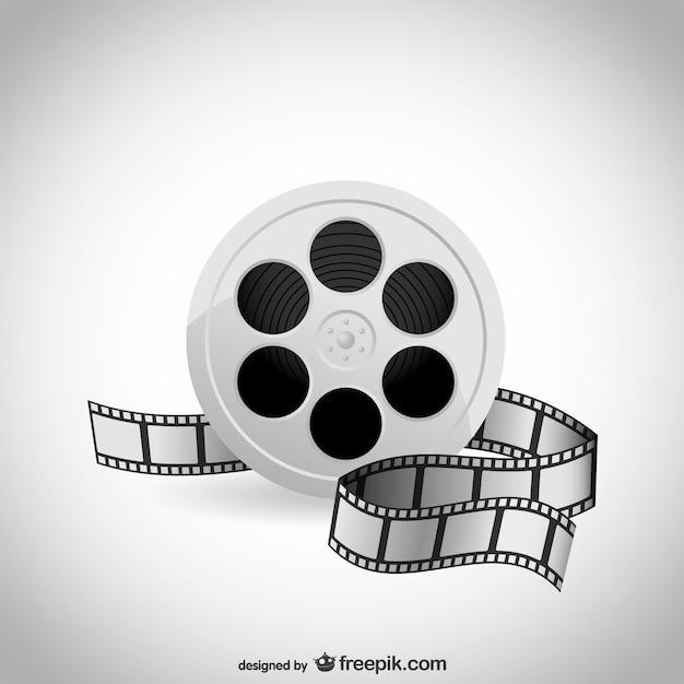Film film vector Gratis Vector
