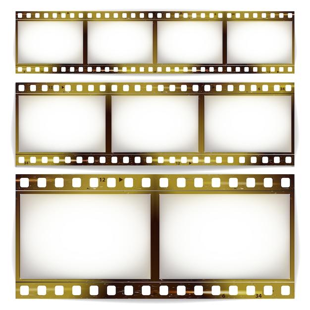 Filmstrook Premium Vector