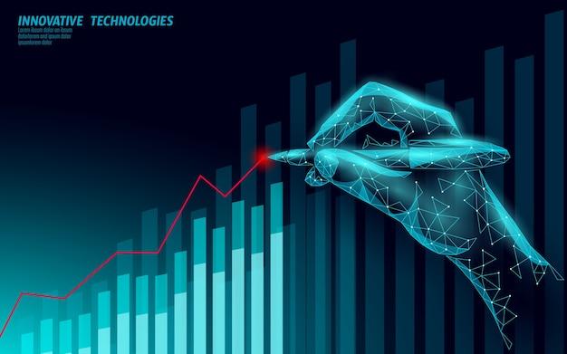 Financiën bedrijfsidee verhogen winst marketing Premium Vector
