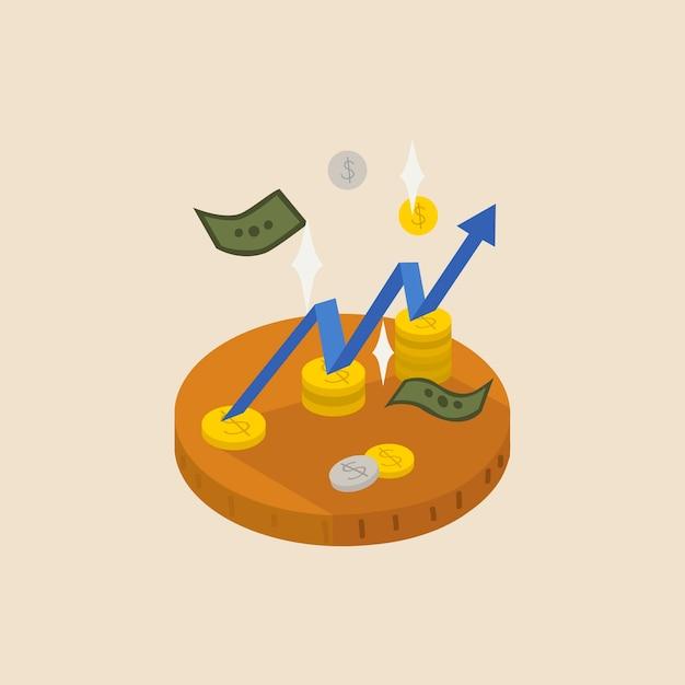 Financiën Gratis Vector