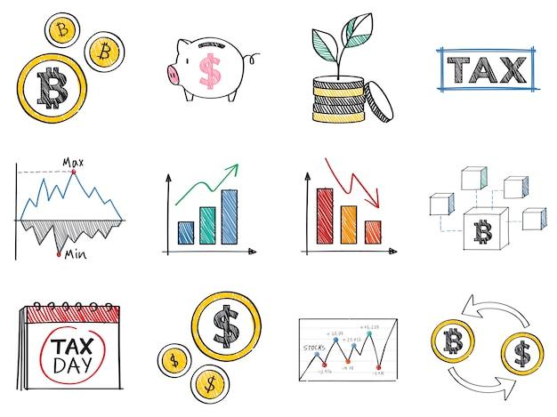 Financiering en financiële prestaties concept illustratie Gratis Vector