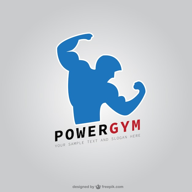 Fitness club logo Premium Vector