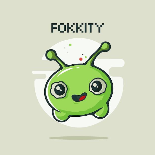 Fokkity avatar Premium Vector