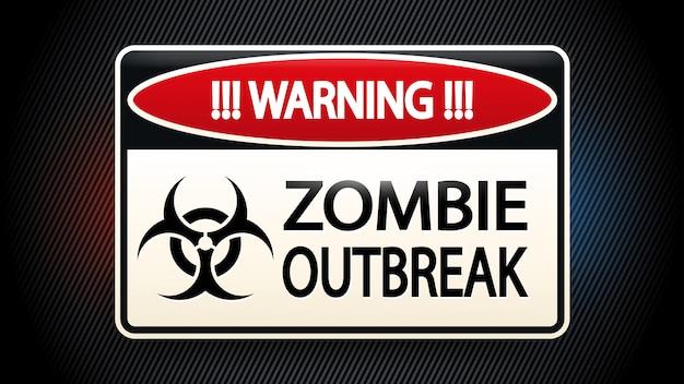 Foto van zombie Premium Vector