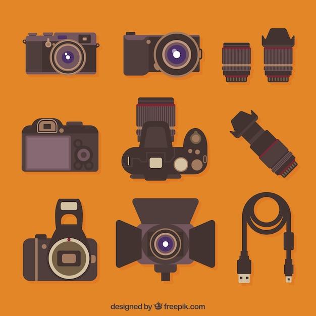Fotoapparatuur Gratis Vector