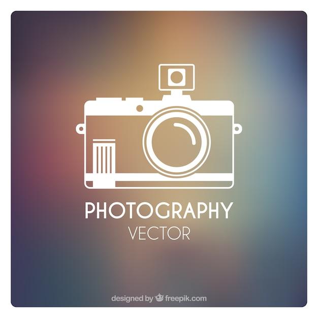 Fotografie icoon Premium Vector
