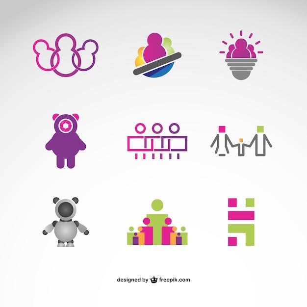 Fotografie logo's gratis te downloaden Gratis Vector