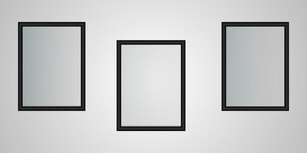Fotolijsten Premium Vector