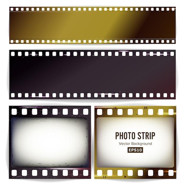 Fotostrook Premium Vector