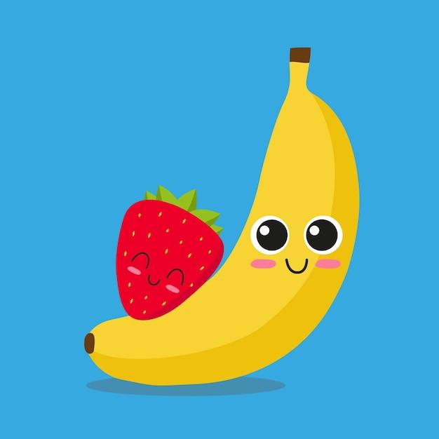 Fruit achtergrond ontwerp Gratis Vector