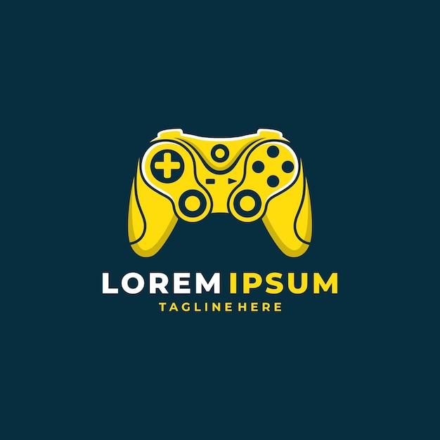 Gamepad-logo Premium Vector
