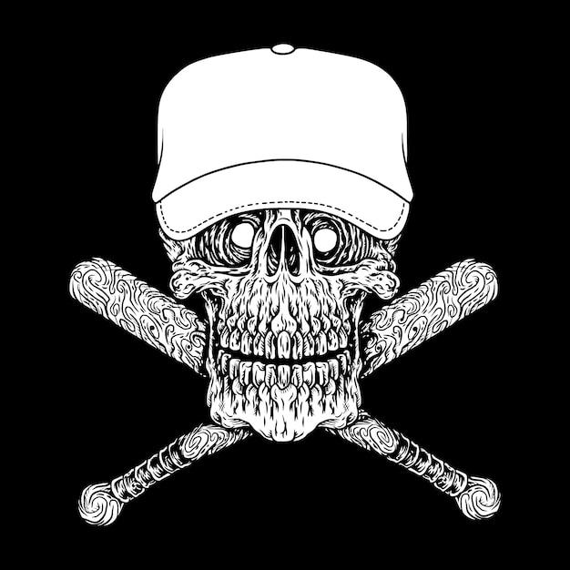 Gangster, pictogram of symbool Premium Vector